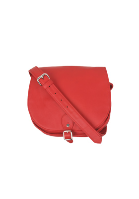 Red Saddle Crossbody