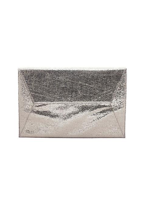 Gilded Envelope Clutch