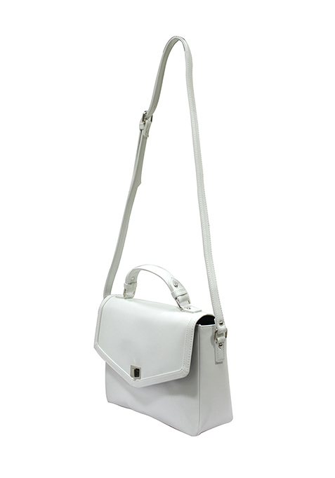 White Out Satchel Bag