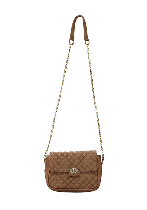 Fawn Quilted Sling Bag