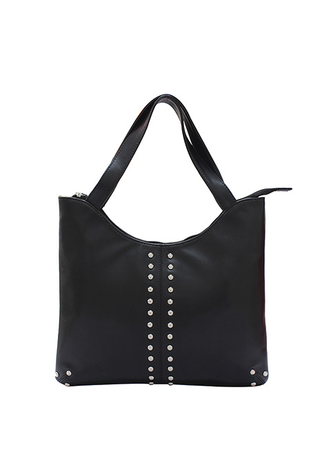Stud Face Black Bag