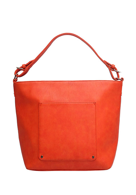 Burnt Orange Hobo Bag