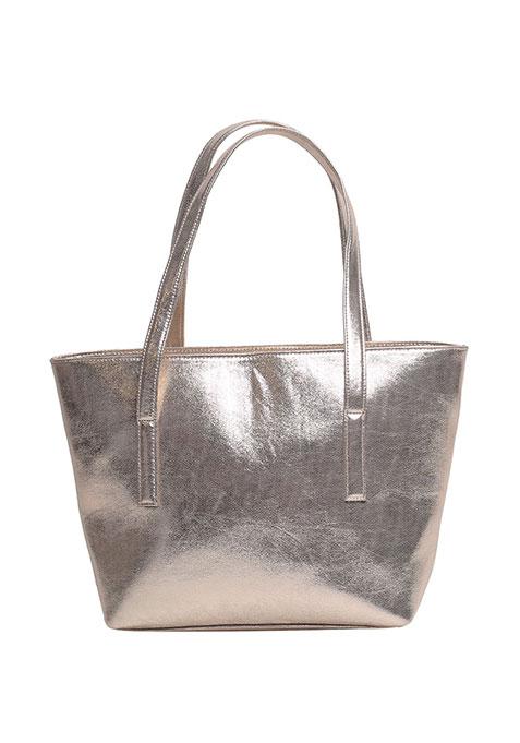Gold Trapeze Tote Bag