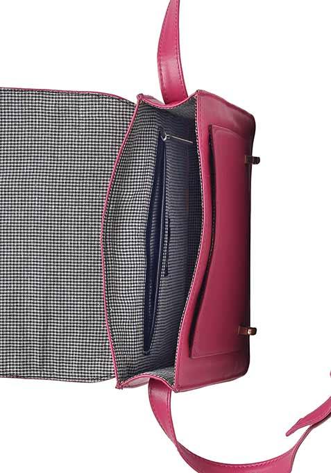 Pretty Pink Mini Satchel Bag