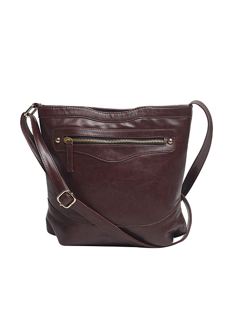 Hipster Brown Sling Bag