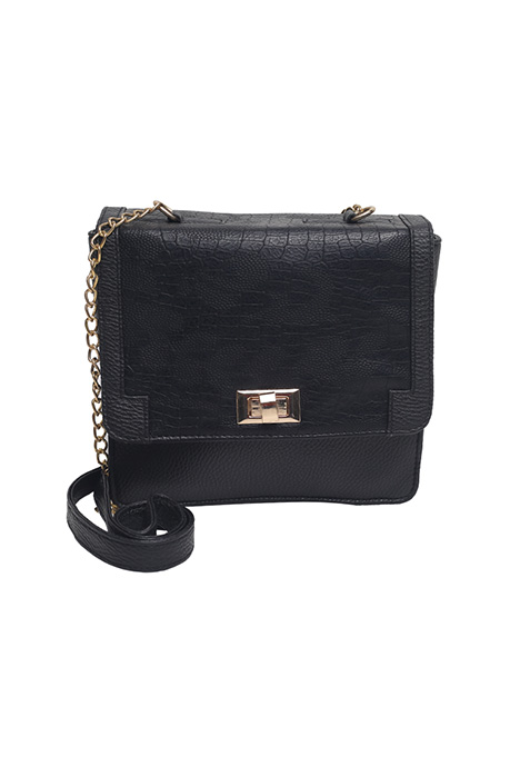 Lady In Black Shoulder Bag
