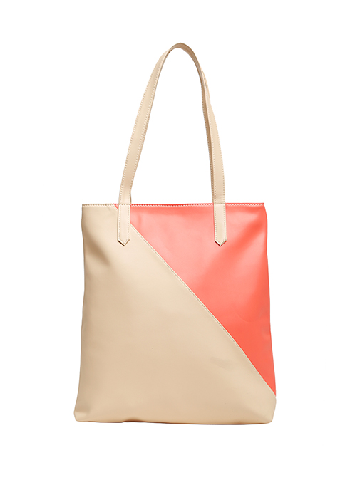 Duality Shopper Bag - Beige