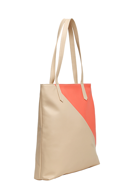 Duality Shopper Bag - Beige