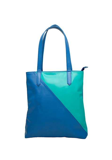 Duality Shopper Bag - Blue