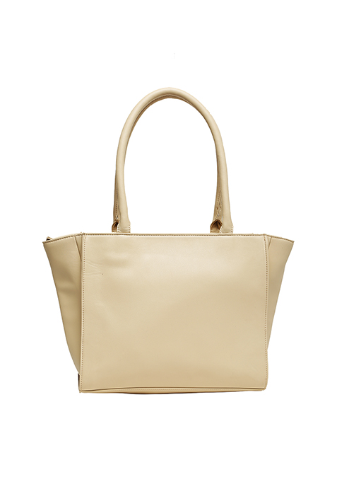 Sublime Trapeze Tote Bag - Beige