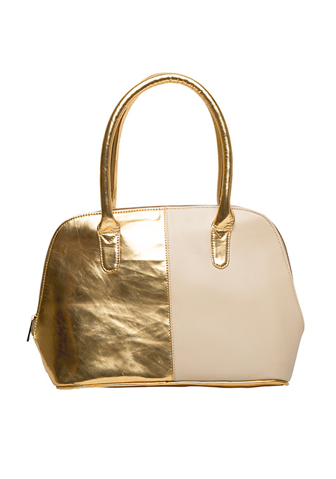 Two Faced Tote Bag - Gold