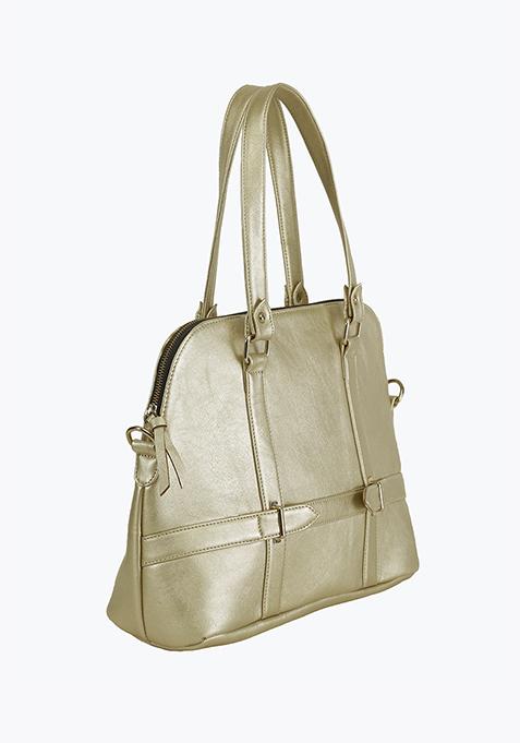 Hatch Kettle Bag - Gold