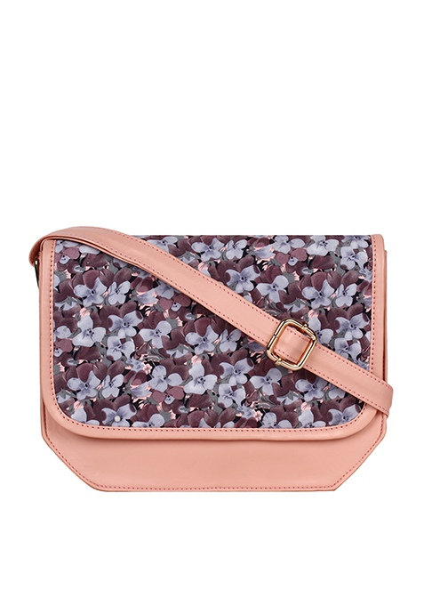 Floral Finesse Crossbody bag