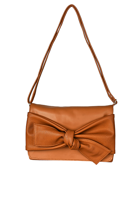 Knotty Sling Bag - Camel