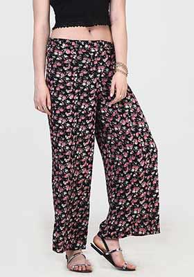 Ditsy Flower Wide Legged Pants