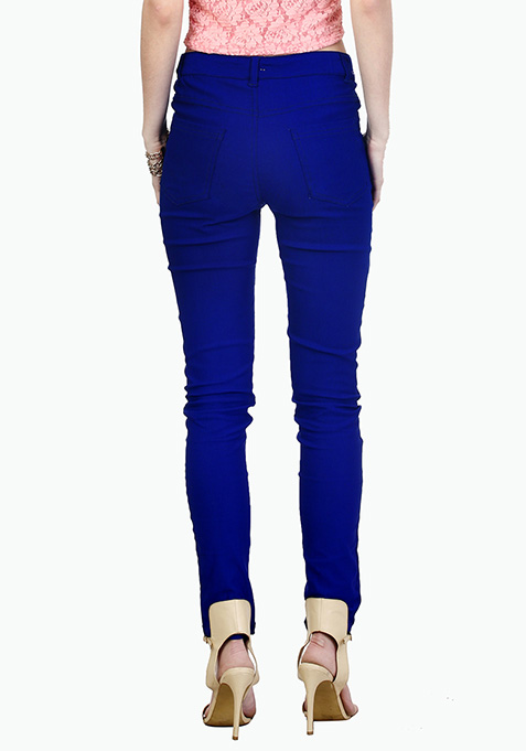 Essential Blue Trousers