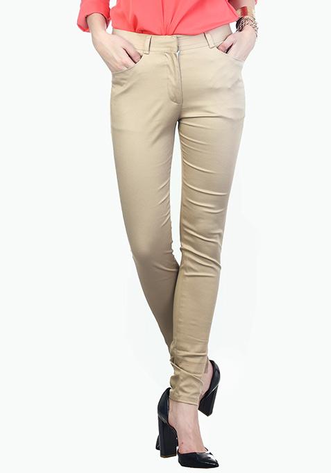 Working Girl Beige Trousers