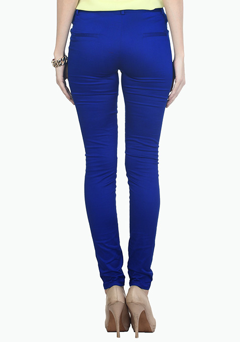 Working Girl Blue Trousers