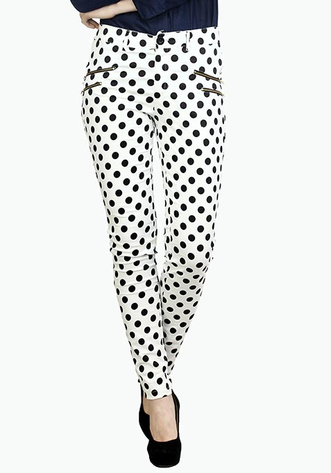 Summer Spell Polka Trousers