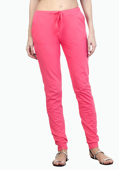 Hot Pink Joggers