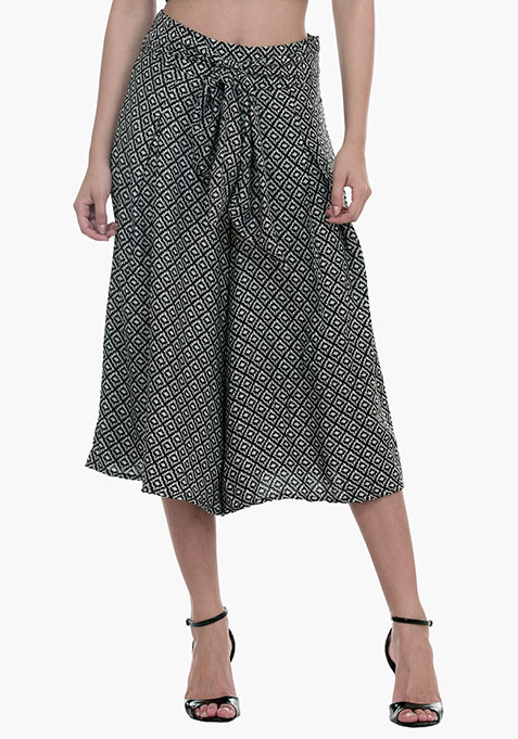 Contemporary Aztec Culottes