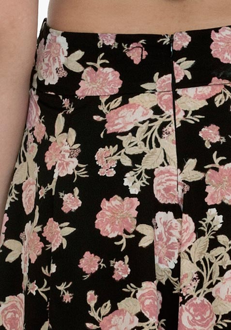 Contemporary Floral Culottes