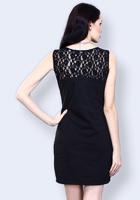 Dark Charm Lace Dress