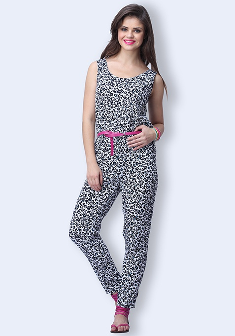 Leopard Love Jumpsuit