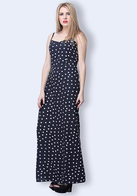 Dotted Day Maxi Dress