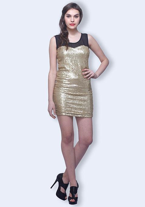 Golden Nights Dress