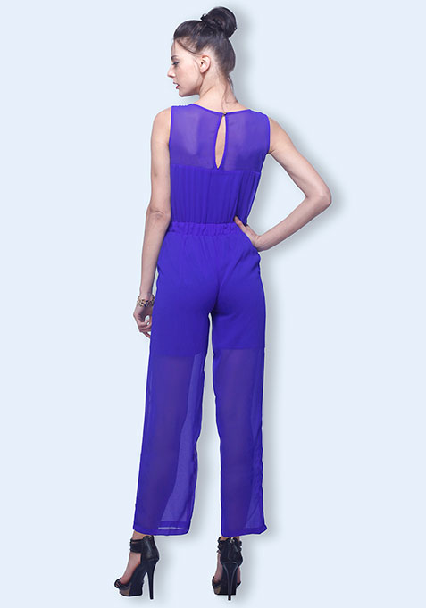Beat The Blues Jumpsuit