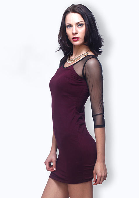 Oxblood Dose Dress