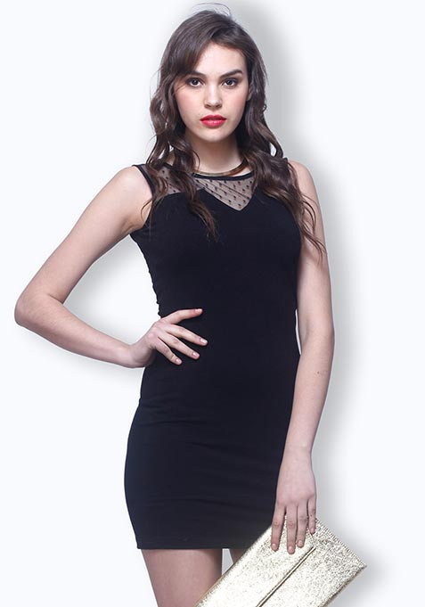 Dark Secret Bodycon Dress