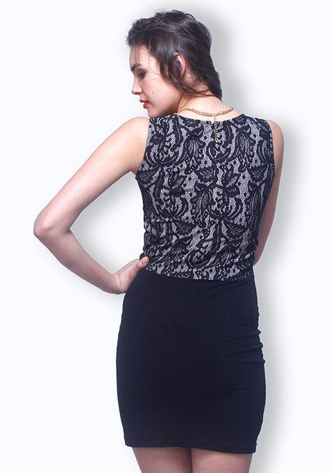 Eternal Lace Bodycon Dress