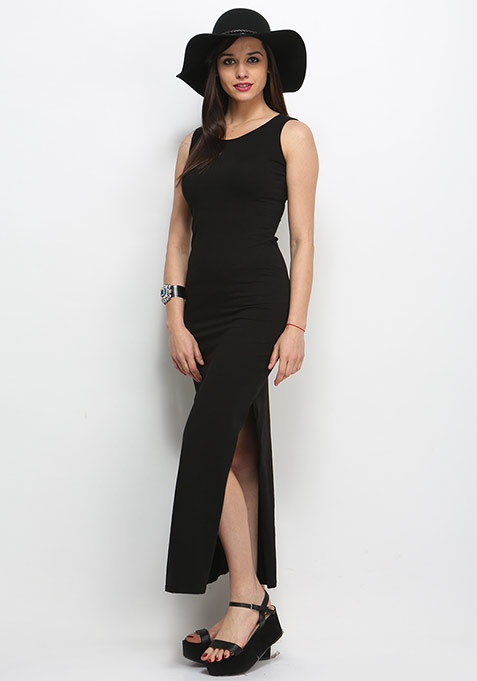 Night Wrap Maxi Dress