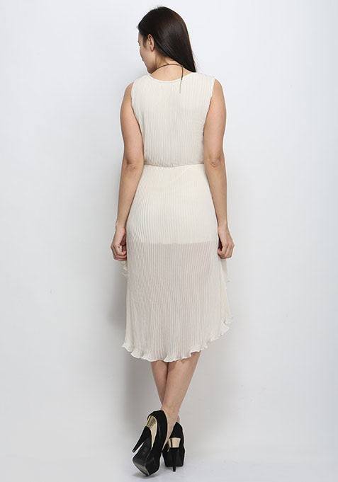 Mullet Muse Dress - White