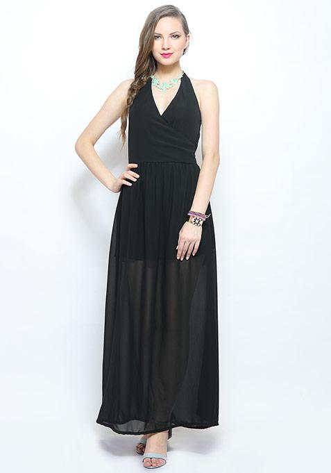 Dreamland Maxi Dress - Black