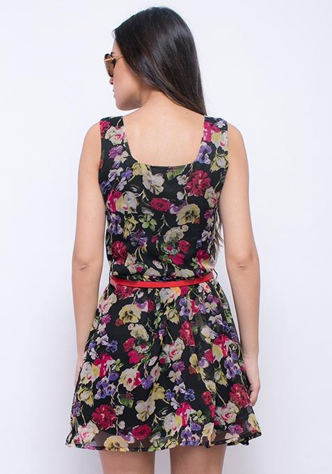 Garden of Roses Skater Dress