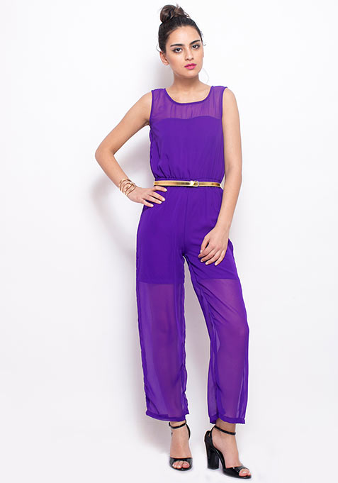 Purple Play Jumpsuit