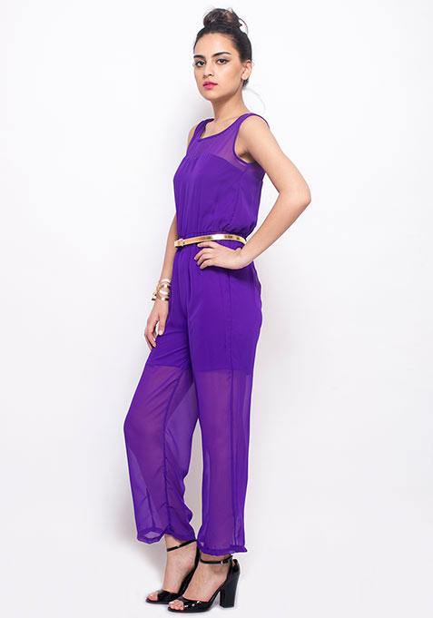 Purple Play Jumpsuit