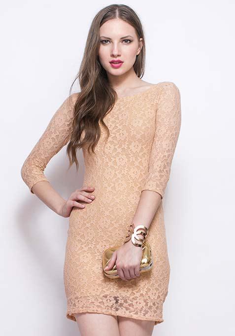 Lace Spell Sheath Dress