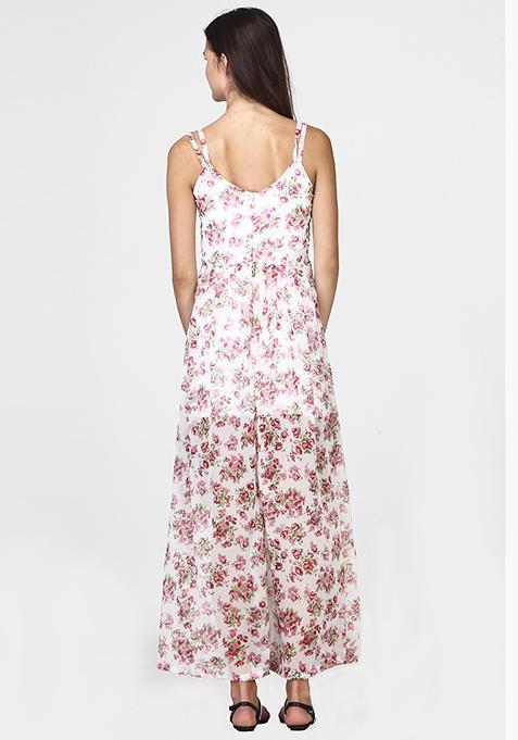 Floral Swing Maxi Dress