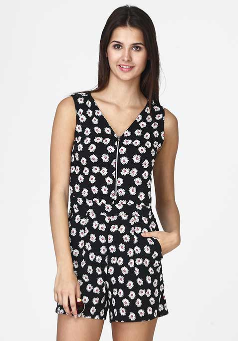 Delicate Daisies Playsuit