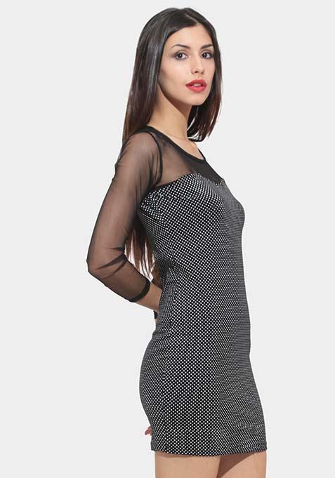 Hot On The Dot Dress