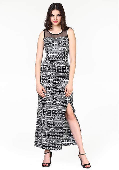 Aztec Muse Maxi Dress