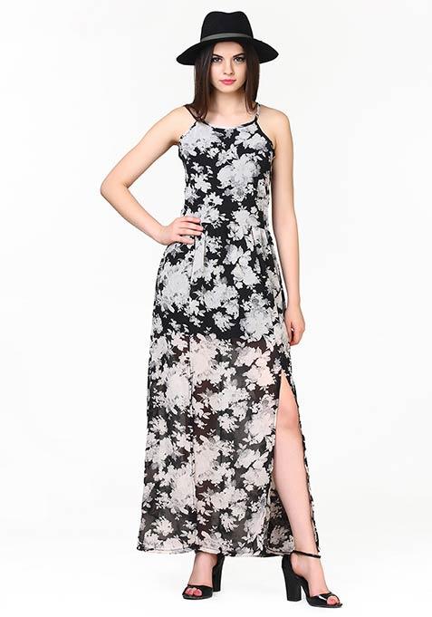 Floral Smash Maxi Dress