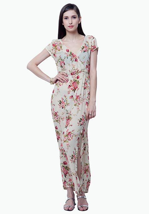 Boho Babe Maxi Dress - Gardenia