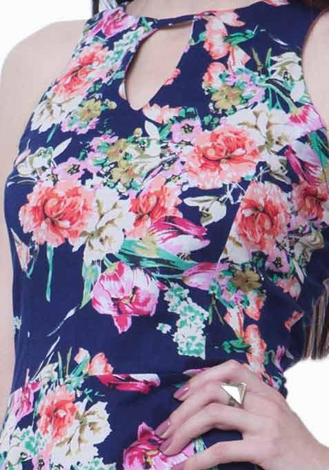 Strap It In Skater Dress - Floral