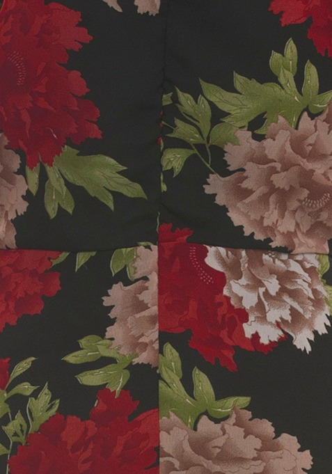 Supesized Floral Maxi Dress