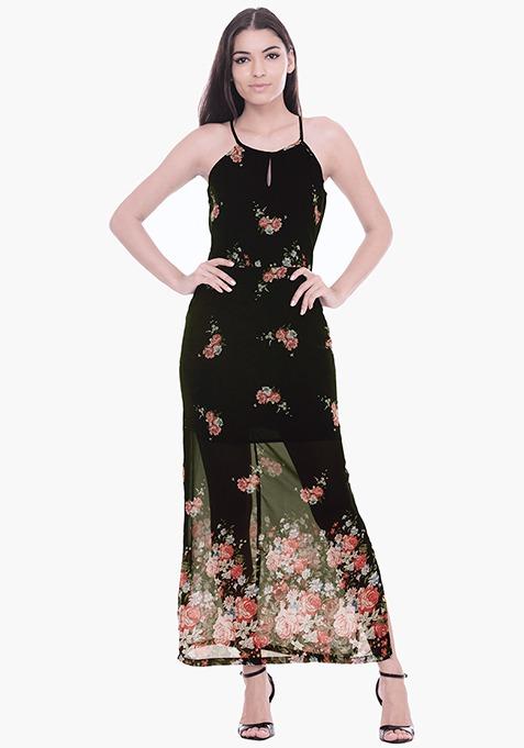 Floral Fancies Maxi Dress